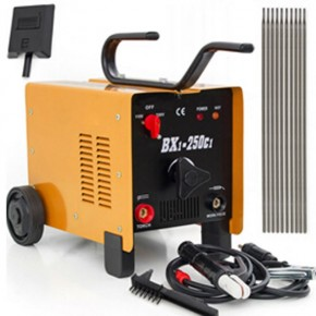 BX1-250C1 Powerful PVC Welding Machine Yellow
